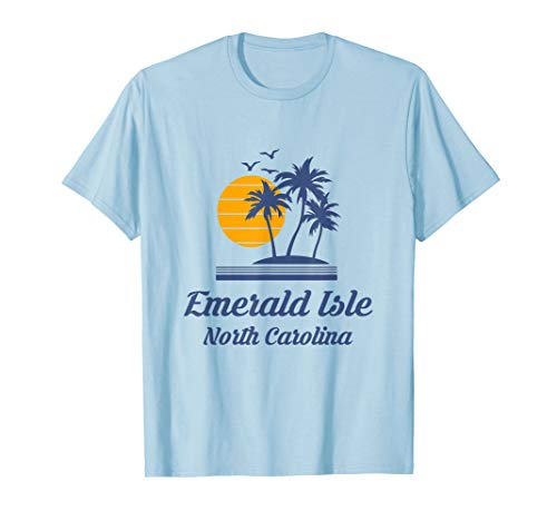 - Emerald Isle Island North Carolina NC Beach Tourist Souvenir T-Shirt