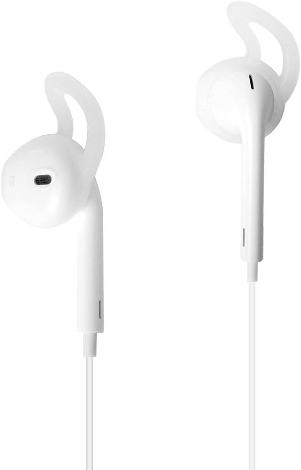 2 pares Sikai Premium EarPods de silicona para iPhone 5 5S 6