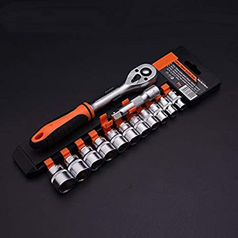 "72 Tooth 1//2/"" Drive Mini Head Socket Ratchet Professional Ergo Grip"