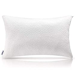 Description: Choose the pillow that is right for you. Enjoy sleep, Enjoy your life. This shredded pillow adapts to your head, neck, and shoulders to provide the enhanced support and the gentle alignment you need, plus the comfort you want.  This pill...