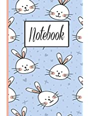 Bunny Notebook: Is cute notebook . Use it as a journal, note-taking, composition, or exercise notebook makes a great gift!