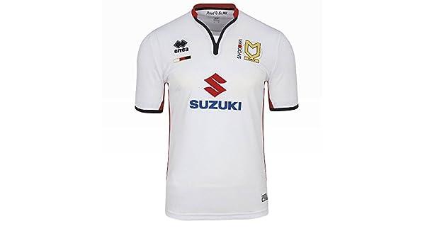 Milton Keynes DONS FC Camiseta 2015 – 2016, blanco: Amazon.es ...
