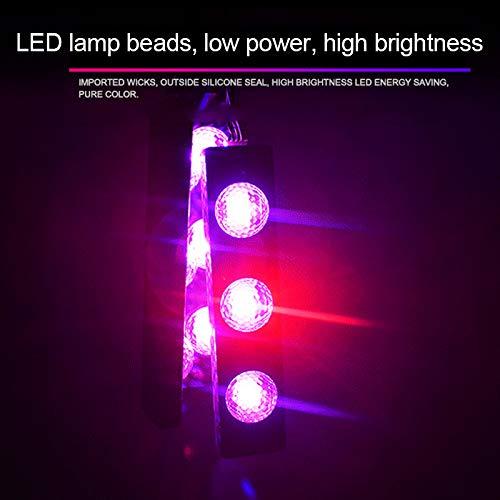 Dastrues Car Atmospheres Lamp LED Interior Foot Light Ambient USB Decoration Sound Control