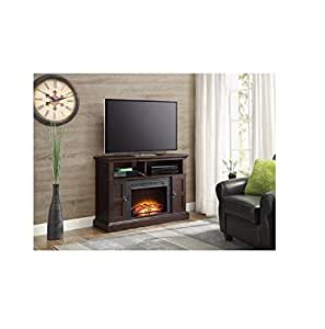Amazon Com Whalen Media Fireplace Console For Tvs Up To