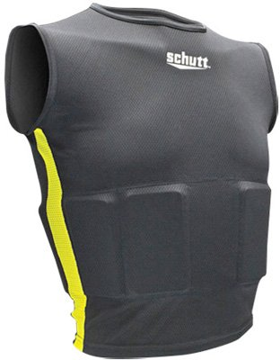 Schutt Sports Youth Rib Protector Shirt, Large (Schutt Rib Youth Football)