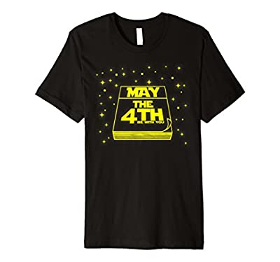 May The 4th Be With U You, Fourth Science Fi Movie T-Shirt