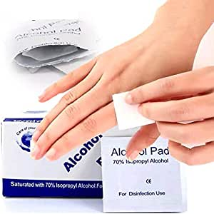 300pcs Sterile Alcohol Prep Pads Alcohol Swabs Pads Wipes Skin Cleanser