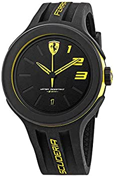 Ferrari FXX830221 Men's Rubber Strap Dial Watch