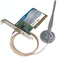 D-Link DWL-AG530 Wireless PCI Adapter, 802.11 a/g, 108Mbps