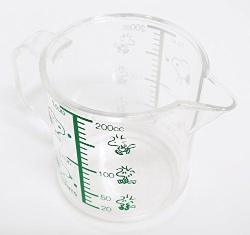 petite OSK SNOOPY tasse à mesurer échelle Capacité 200 ml Japan