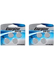 Energizer Cr2032 3 Volt Lithium Coin Battery, 4 Count … (2 Pack)
