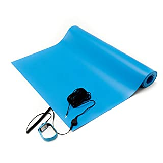Bertech ESD Anti-Static, General-Purpose Mat Kit, Blue