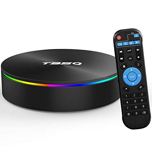Android TV Box, T95Q 4GB RAM 32GB/64GB S905X2 Quad-core Cortex-A53 4K Resolution 2.4GHz&5GHz Dual Band WiFi Smart Media Box 25846,4GB+64GB (Best Digital Freeview Recorder)