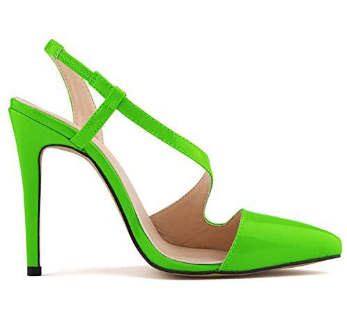Altos P Zapatos Elegante Color Moda Sexy Tacones De Flyrcx Personalidad Charol Fiesta Temperamento Mujer PqnxaOaZdw