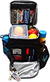 Large Insulated Lunch Bag for Men and Women with