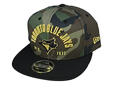 Toronto Blue Jays New Era SnapBack Adjustable One Size Fits Most Hat Cap - Camouflage by New Era Cap Company, Inc.