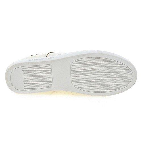 Taoffen Damesschoenen Platform Schoenen Zwart