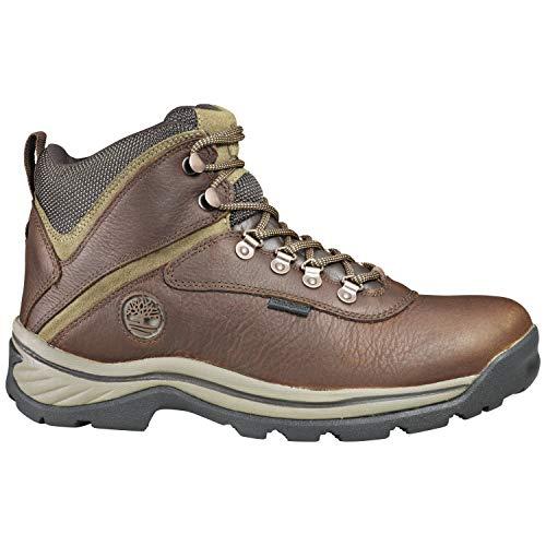 Timberland Men's White Ledge Mid Waterproof Ankle Boot, Medium Brown Full Grain 10 M US