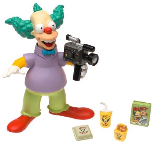 The Simpsons Wave 1 Action Figure Krusty the Clown