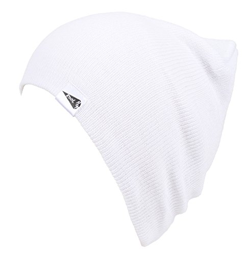 KooL Hop Kids Boys Girls Baby 100% Pure Cotton Knit Basic Beanie Hat Cap -