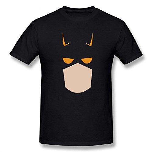 [TOTOT Boy's Daredevil Cartoon Comics Super Hero Costume Cotton T Shirt black XL] (Daredevil Black Costumes)