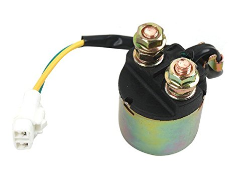Aftermarket Replacement Electric Starter Relay Solenoid Switch Fit For HONDA TRX350 2000 2001 2002 2003 2004 2005 2006 TRX450 TRX450ES FOURTRAX RANCHER 1998 1999 2000 2001 2002 2003 2004 2005 2006 2007 2008 2009