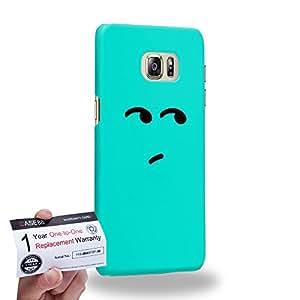 Case88 [Samsung Galaxy S6 Edge Plus] 3D impresa Carcasa/Funda dura para & Tarjeta de garantía - Art Fashion Bored Kawaii Emoticon Edition
