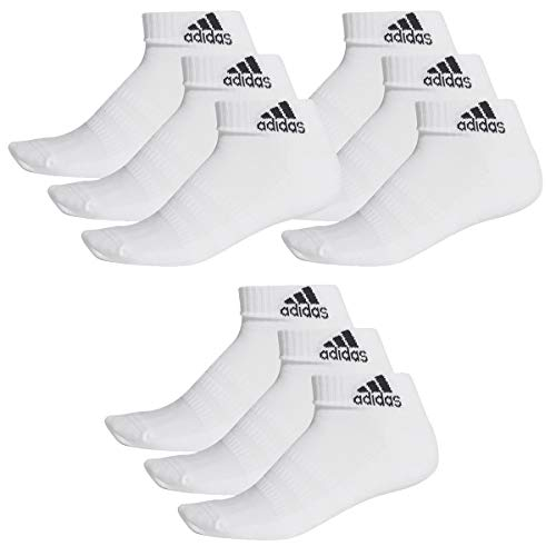 adidas 9 Paar Performance Sneaker/Quarter Socken Unisex Kurzsocke