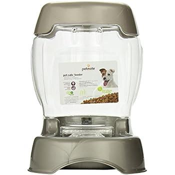 Petmate Pet Café Feeder, 3 pound capacity, Pearl Tan