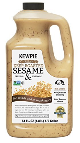 Kewpie Deep Roasted Sesame Dressing, 64 Ounce
