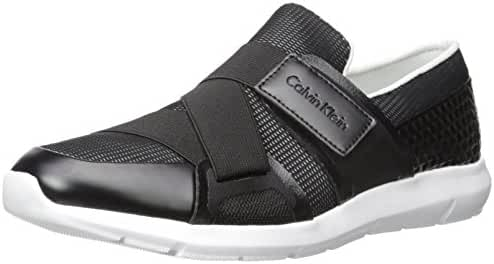 Calvin Klein Men's Rahul Mesh/hex Emboss Fashion Sneaker