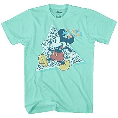 Disney Mickey Mouse 90s Nostalgia Classic Retro Vintage Disneyland World Tee Funny Humor Adult Mens Graphic T-Shirt Apparel