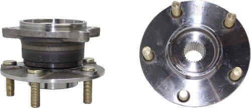 Detroit Axle - (Both) REAR Wheel Hub and Bearing Assembly For 2004-2008 2004-08 Mitsubishi Endeavor AWD - [2010-11 Mitsubishi Endeavor AWD]