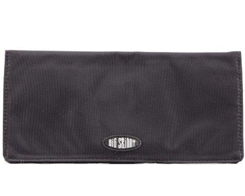 xecutive Checkbook Bi-fold Wallet Black ()