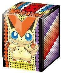 - Pokemon JAPANESE Card Game Supplies Victini Deck Box