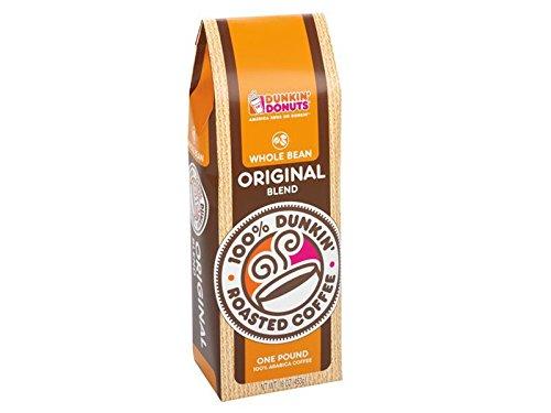 1 Lb Whole Bean - Dunkin' Donuts Whole Bean Coffee - 1 lb (Original Blend)