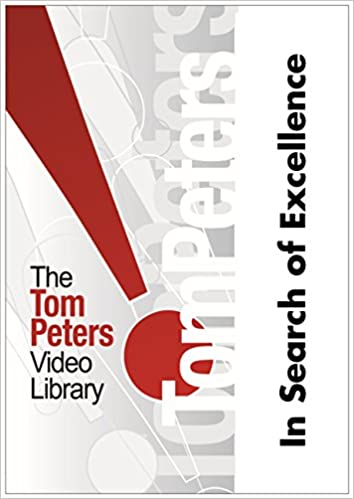 In search of excellence training dvd tom peters robert h in search of excellence training dvd tom peters robert h waterman jr 9781561063550 amazon books publicscrutiny Choice Image