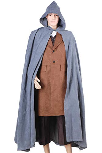 GOTEDDY Frodo Costume Set Halloween Cosplay Outfit M