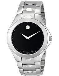 Movado Mens 606378 Luno Sport Stainless Steel Bracelet Watch