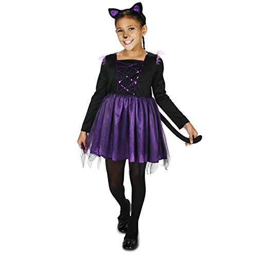 Air Dancer Costume Halloween (Ballerina Kitty Child Costume S (4-6))