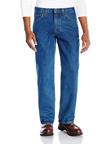 Carhartt Men's Relaxed Fit Five Pocket Tapered Leg Jean B17