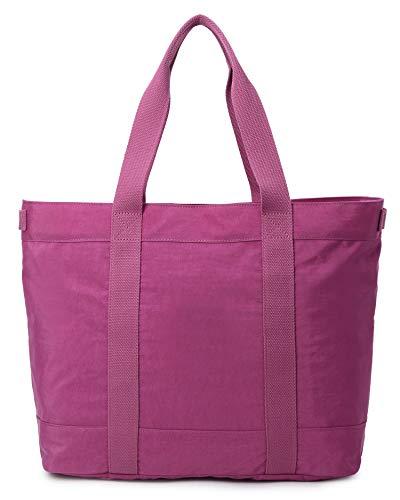 Crest Design Large Lightweight Work or School Tote Bag Handbag for 17