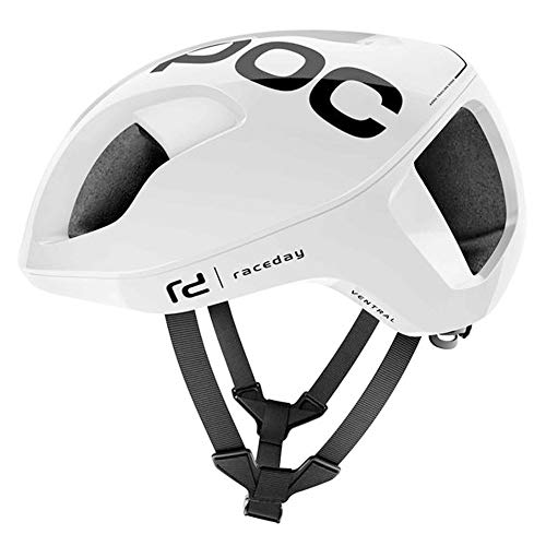POC Ventral Spin, Cycling Helmet, Hydrogen White Raceday, M