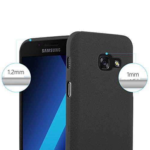 Cadorabo - Cubierta protectora para >                                  Samsung Galaxy A3 (7) - Modelo 2017                                  < de silicona TPU en diseño Escarcha