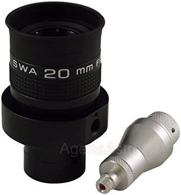 Agena 1.25 Wireless Illuminated Reticle Eyepiece with Focusable Dual Crosshair 20mm