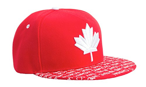 Epic Canadian Pride, Canuck Maple Leaf Forever O Canada Snapback Baseball Hat