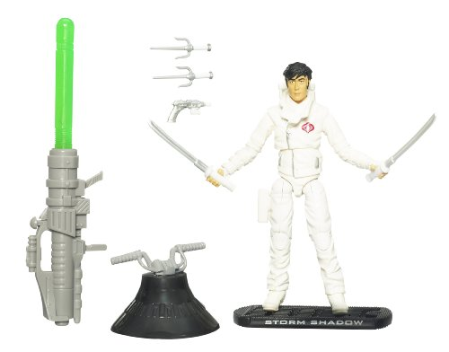G.I. Joe Movie The Rise of Cobra 3 3/4 Inch Action Figure Storm Shadow (Paris Pursuit)