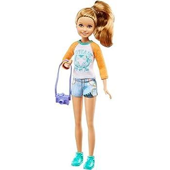 Amazon Com 2016 Barbie Camping Fun Stacie Toys Amp Games
