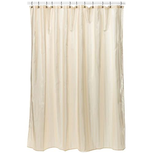 Croscill Fabric Shower Curtain Liner, 70 Inch By 72 Inch, Linen
