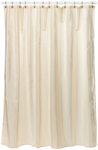 Croscill Fabric Shower Curtain Liner 70 Inch By 72 Linen